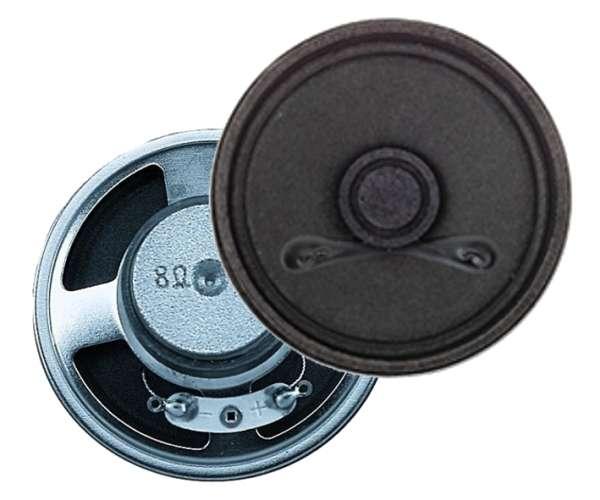 77mm Lautsprecher 1W 8Ohm rund