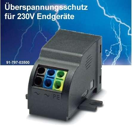 Überspannungschutz Blitzschutz für 230V Geräte