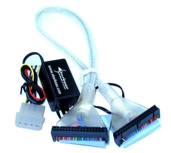 FFD Floppy Kabel 450mm LED Beleuchtet 34pol Pfostenverbinder