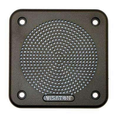 10cm Lautsprecherabdeckung Gitter quadratisch 96x96mm Kunststoff