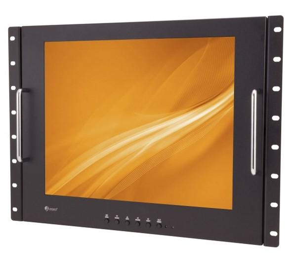 17zoll Rack Monitor 430mm (17zoll) Bildschirm BNC Video VGA HDMI Eingang