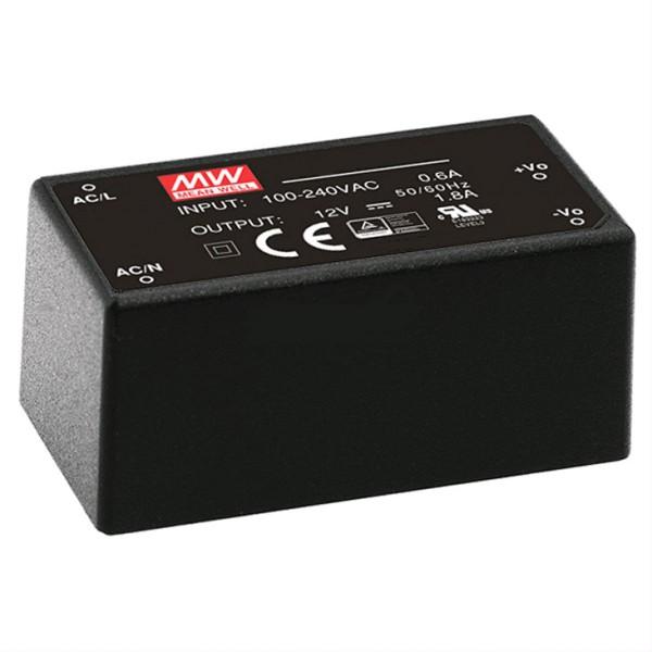 12V Netzteil 12V 22W Mini Netzteil für Platineneinbau 230VAC 53x27x24mm