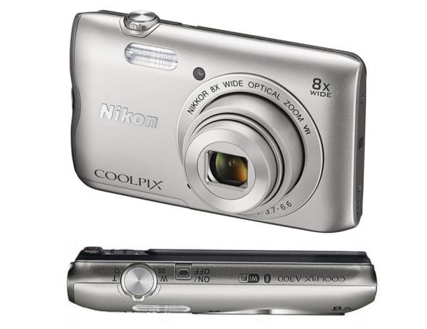 Digitalkamera 20MP Coolpix A300SL USB WLAN Bluetooth Blitz