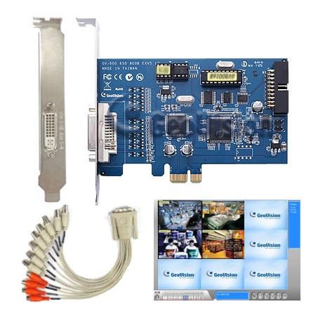 GV800B-EX 8Kanal Kameraplatine PCI-E 100fps inkl Software