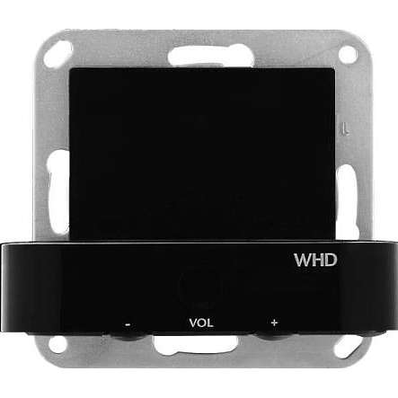 MP55 UP Wandstation mit Stereoverstärker ohne FB zu iPhone iPod Schwarz
