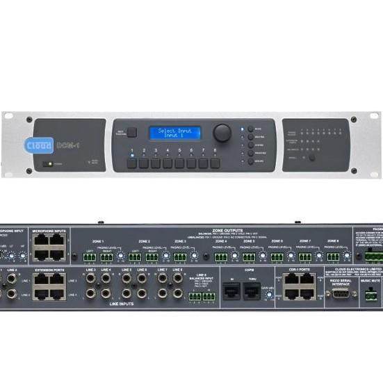 8x8 Audio Matrix Multiroom Zonen Steuergerät DCM1 RS232