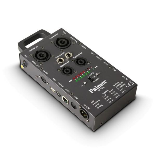 Kabeltester für Audiokabel und Datenkabel Speacon XLR Klinke Cinch Midi DIN USB RJ45 Kabelprüfer