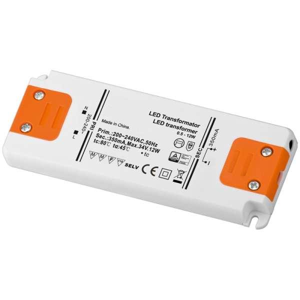 LED Trafo LED Treiber 350mA 12W Konstantstrom bis 12W