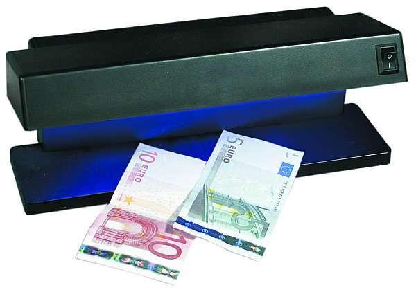 UV Geldscheinprüfer 230Volt 2x6W Röhren