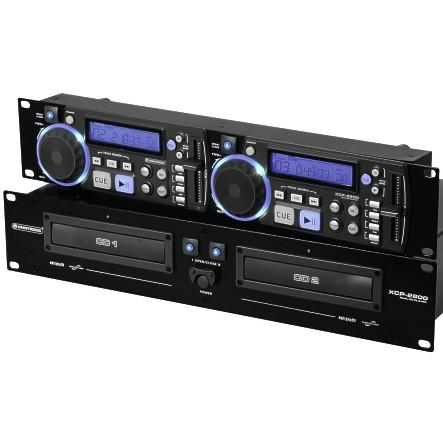 Doppel CD Player XCP2800 Rackeinbau
