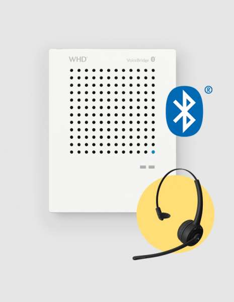 Kontaktlose Sprechanlage CORONA SARS Sprachbrücke VoiceBridge Bluetooth SET2