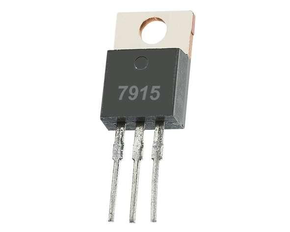 7915 Stabi minus -15V 1A TO220