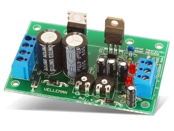 Bausatz Netzteil Plus Minus +/-5V +/-9V +/-12V +/-15V +/-18V +/- 20V +/-24V 2x1A symmetrische Stromv