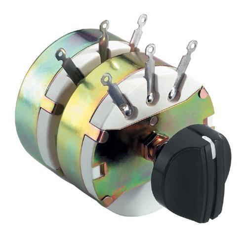 Lautsprecherregler STEREO 2x 100W Pegelsteller Lautstärkeregler