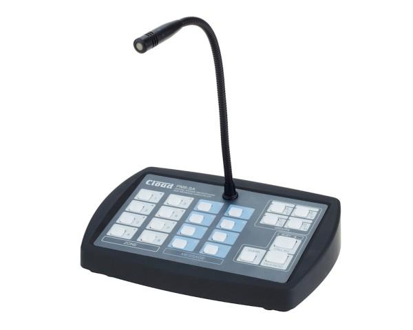 Multi Zonen Mikrofon 8Zonen PM8-SA mit Audiospeicher SD Textspeicher