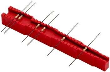 Bauteil Abbiegevorrichtung für Widerstände Dioden usw