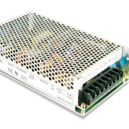 24V 5A Netzteil mit Akku Anschluss Ladefunktion und Netzausfallschutz DC USV