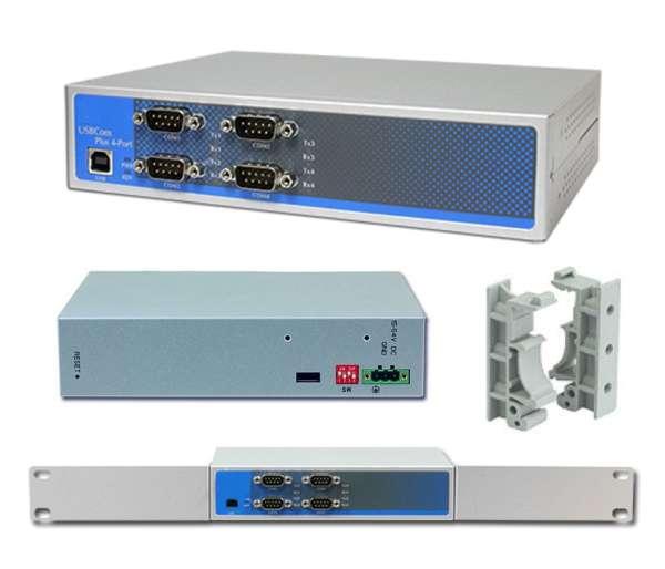 USB RS232 RS485 USB 4xCOM Konverter Industrie USB auf 4x RS232 RS485