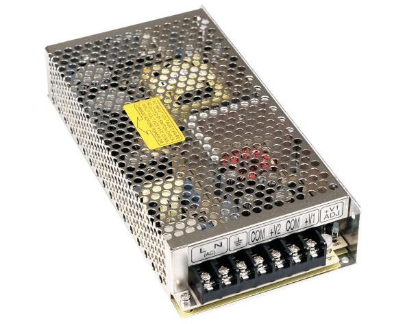 Duo Netzteil 5V 24V 133W 2fach Ausgang 2x Minus Out Case Schaltnetzteil