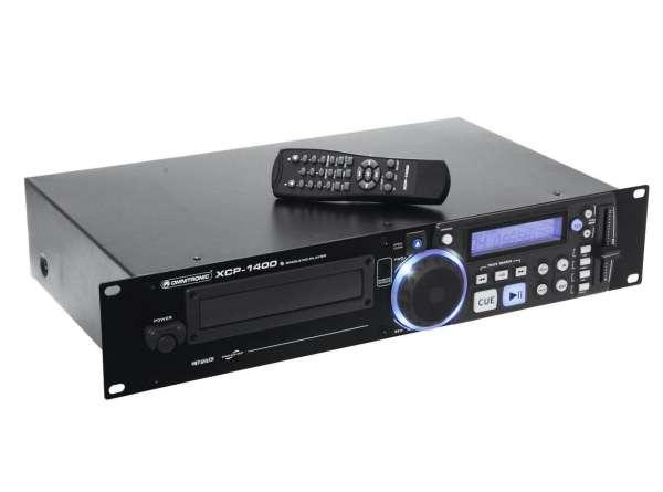 19zoll CD-Player für den Rackeinbau XCP-1400 mit Fernbedienung