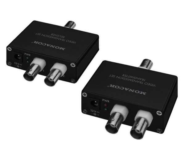 2 Kameras über 1x Koax RG59 Koaxkabel bis 100m für AHD TVI CVI CVBS Videosignale