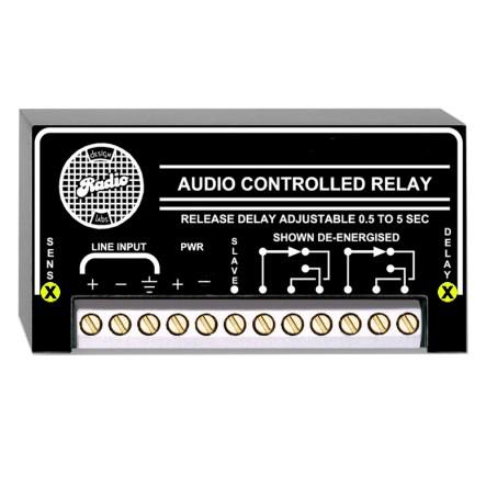 100V ELA Audiorelais Prioritäts Umschalter