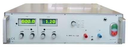 600V Labornetzteil 0-600V 1,2A regelbar Industrie Ausführung 32566