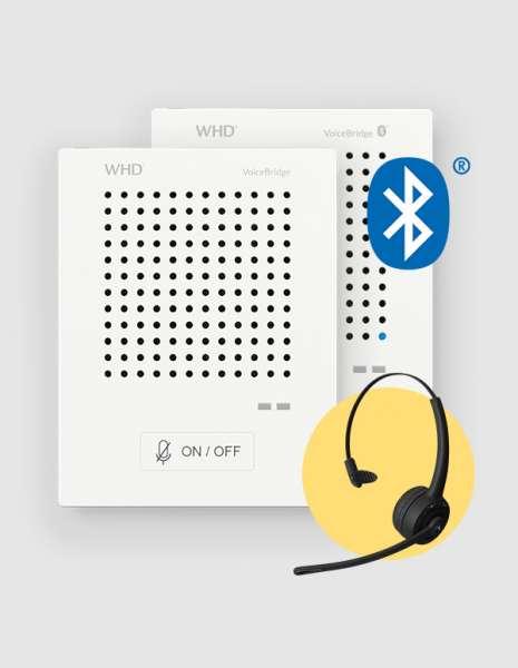 Kontaktlose Sprechanlage CORONA SARS Sprachbrücke VoiceBridge Bluetooth SET3