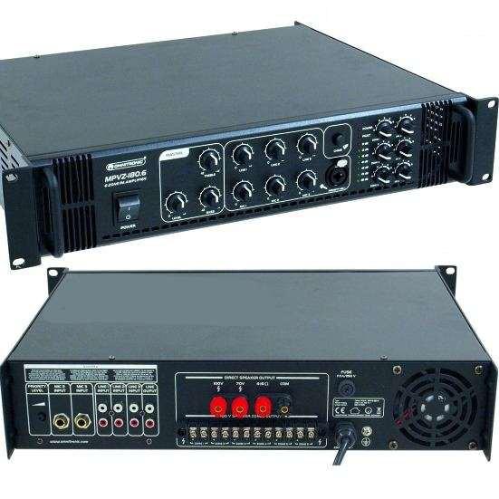 ELA Verstärker 360W 6-Zonen Regelung 100V oder 4-16ohm MPVZ