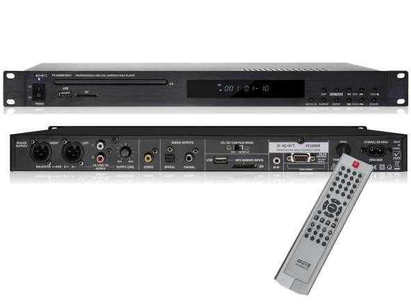 CD MP3 USB Player Rackeinbau mit Fernbedienung PC1000RMKII