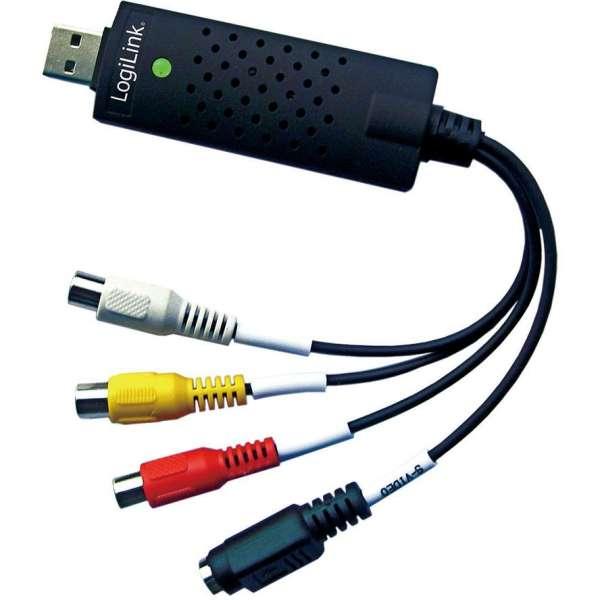 USB Video Grabber VG01B Audio Video Wandler Videos überspielen auf PC oder Notebook