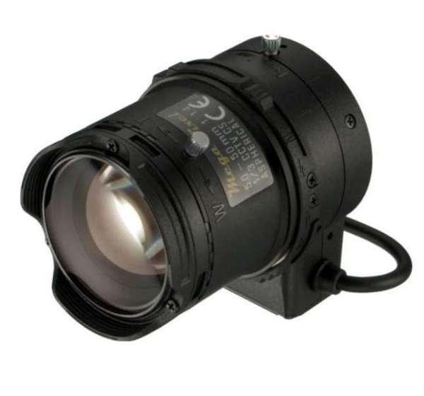 CS-Mount Objektiv 5-50mm Varioobjektiv Megapixel DC gesteuert