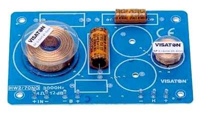 2-wege Weiche 4ohm 160W 3kHz HW2 Frequenzweiche