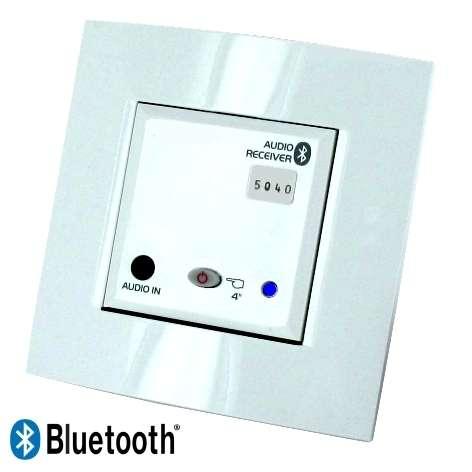 Unterputz Stereo Verstärker mit Bluetooth Empfänger