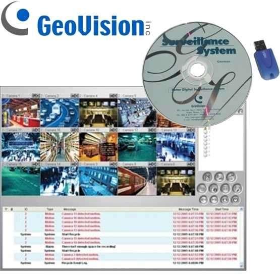 Zusatzsoftware Geovision Center V2 Pro Software