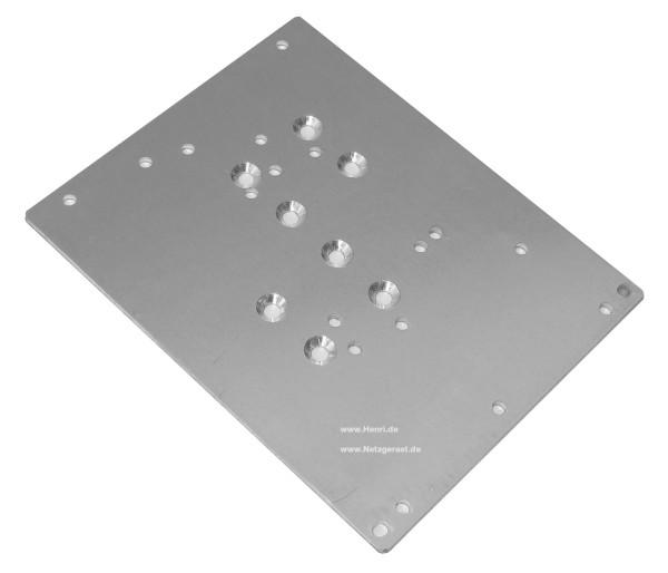 Montageplatte zu Schaltnetzteilen Universal 130x104mm