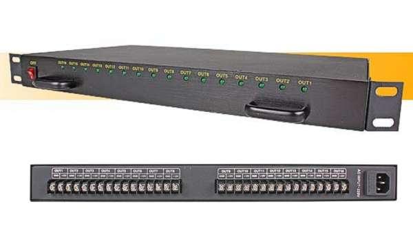 12VDC Netzteil 12V 240W 20A 19zoll Netzteil 1HE Eingang 230V
