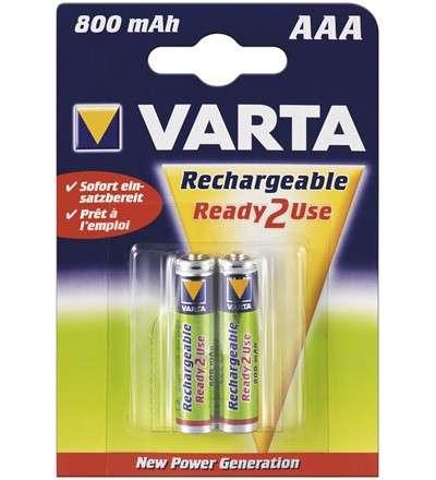 AAA 800mA Micro Akku - 2er Pack