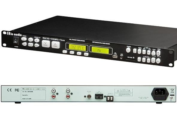 RAC02 UKW Tuner Radio mit CD MP3 USB SP Player und AUX ...