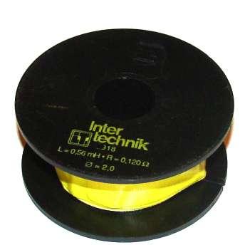 Spule 0,56mH 2mm Draht 0,12R 92x39mm Luftspule