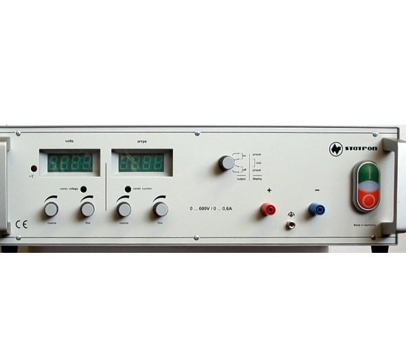 600V Labornetzteil 0-600V 0,6A regelbar Industrie Ausführung