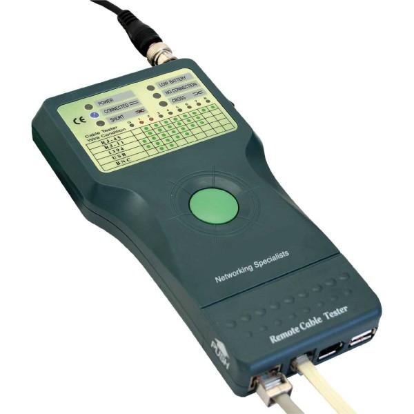 Testgerät LAN TESTER RJ45 RJ12 ISDN USB FireWire Tester