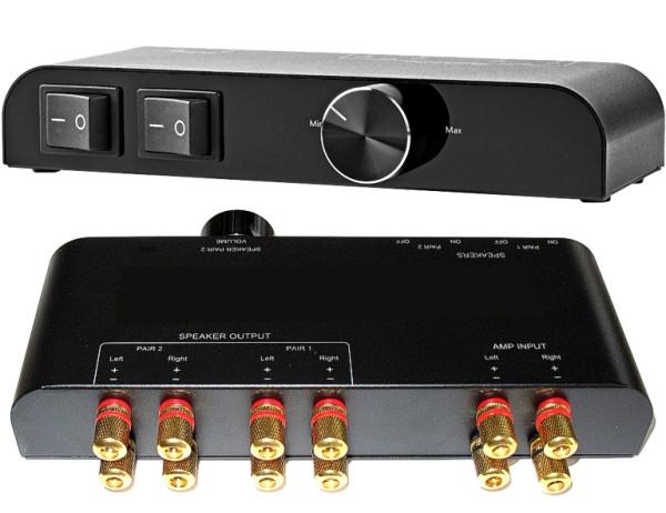 Lautsprecher Schalt- und Regelpult bis 400Watt