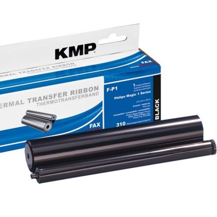 KMP PFA301 Thermotransferrolle Ink Film Farbband zu Philips Faxgerät