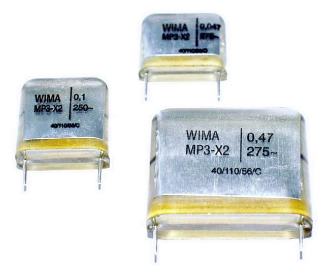 0,047uf,     47nf  RM 15mm 5 stück Entstör Kondensator MKT X2  275V