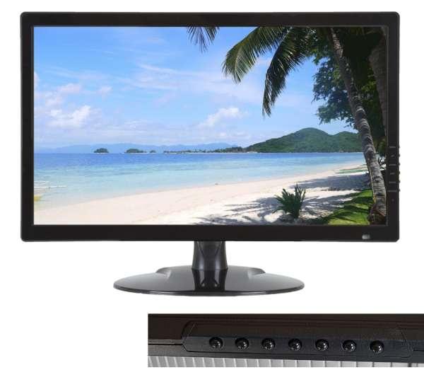 Bildschirm 546mm 21,5zoll Monitor mit HD Konverter für AHD TVI CVI CVBS und BNC VGA HDMI BNC