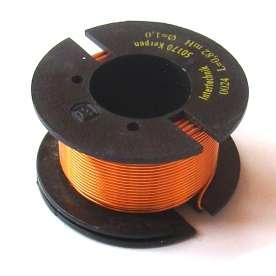 Spule 0,56mH 1,4mm Draht 0,22R 62x41mm Luftspule