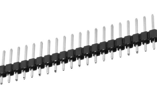 50pol Stiftleiste gerade verzinnt RM 2,54mm