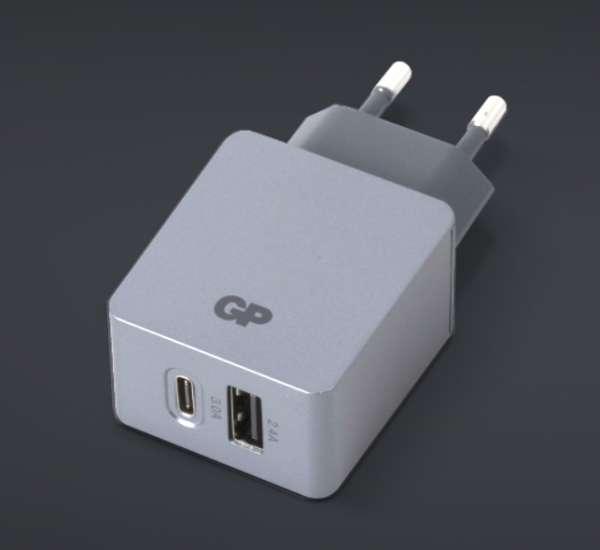 USB Netzteil USB-C Ladegerät 5V 5,4A 2fach-USB-Port