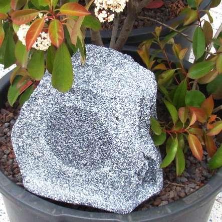 Steinlautsprecher Gartenlautsprecher Rock20 ELA 100V oder 60W 8Ohm 2-wege
